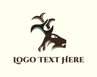 Accountant - Deer Antlers logo design