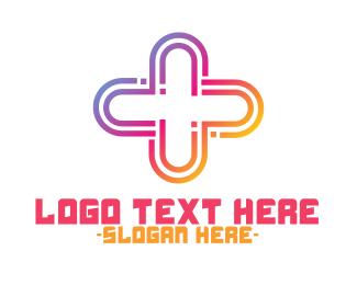 Gradient - Gradient Plus logo design