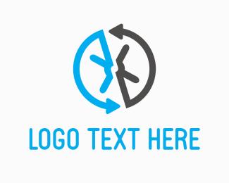 Safe - Safe Arrows logo design