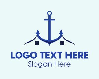 Anchor - Anchor Homes logo design