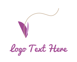 Purple Butterfly Logo
