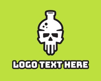 Gaming - Death Lab logo design