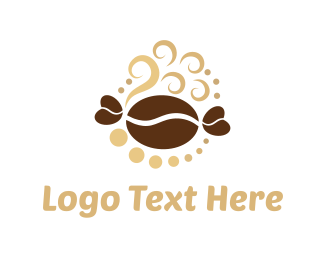 Steam - Coffee & Sweet logo design