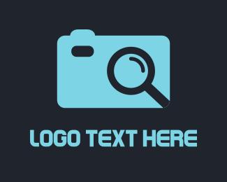 Zoom - Camera Finder logo design