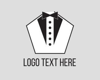 Tuxedo - Pentagon Tuxedo logo design