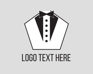 Modiste - Pentagon Tuxedo logo design