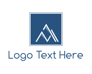 Lead - Square Mountain logo design