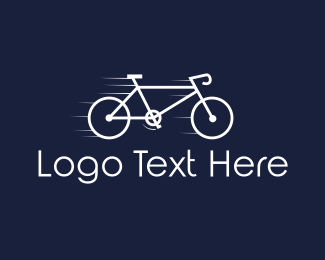Speed - Fast Bicycle logo design