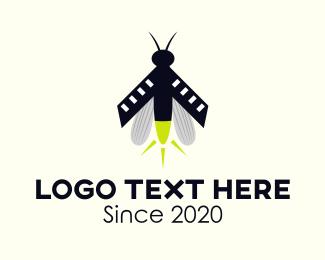 Beetle - Lightning Bug logo design