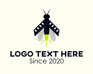 Beetle - Lightning Bug logo design