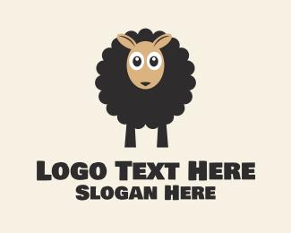 Wool - Black Sheep logo design