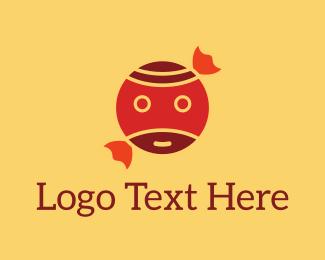 Pirate - Candy Face logo design