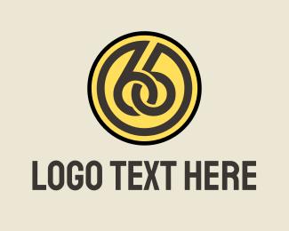 Connection - Blue Number 66 logo design