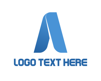 Legal - Tech Letter A logo design