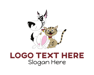 Pet Sitting - Happy Pets logo design