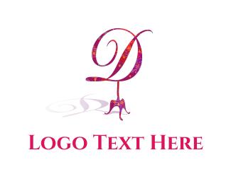 Floral D Logo