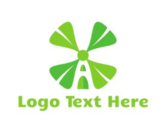 Mill - Clover Mill logo design
