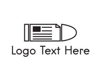 Newspaper Logo Maker | Best Newspaper Logos | BrandCrowd