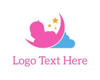 Dream - Baby Moon logo design