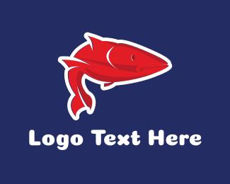 Reef - Saltwater Fish logo design