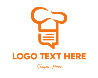 Review - Chef List logo design