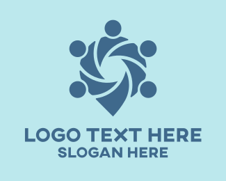Location - Meeting Point  logo design
