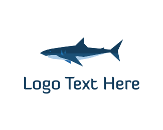 Fin - Shark logo design