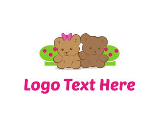 Toy - Teddy Bears logo design