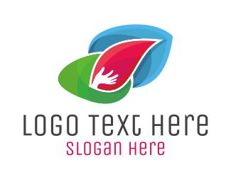 Naturopath - Helping Hand logo design