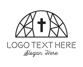 Arch - Dome Church logo design