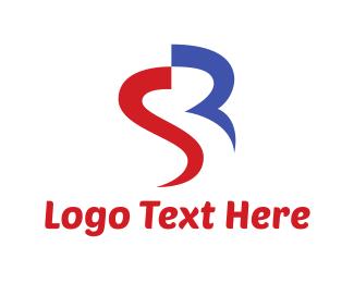 Curves - S & R logo design