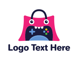 Grocery - Monster Bag Gaming logo design