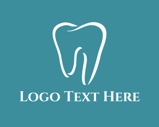 White - White Tooth logo design