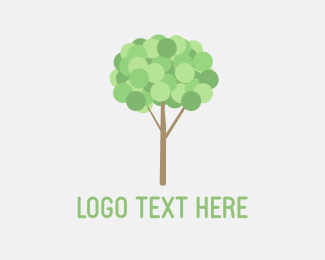 Retail - Little Tree Bubble logo design