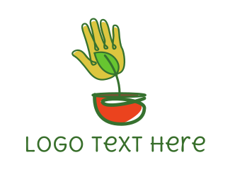 Palm Pot Logo