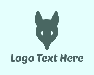 Hunting - Fox Head logo design