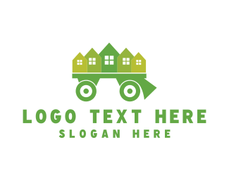 Neighborhood - Moving Truck logo design