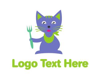 Tuna - Cat Food logo design