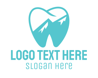 Teeth - Blue Tooth logo design