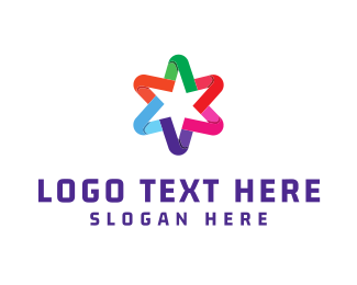 Colorful - Colorful Star logo design