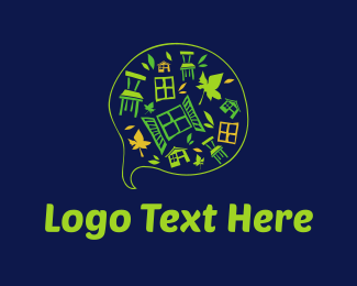 Chair - Garden Furniture logo design