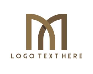 Bridge - Brown Gates logo design