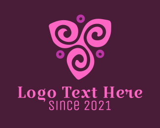 Purple Flower Logo