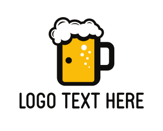 Alcoholic - Beer Door logo design