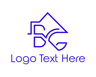 Roof - Roof B & G logo design