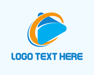 Vlog - C Play Media logo design