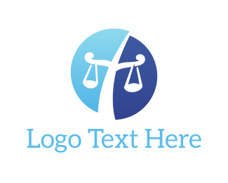 Balance - Law Scales logo design