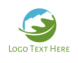 Realtor - Eco Town  logo design