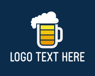 Energy Drink - Beer Charge logo design