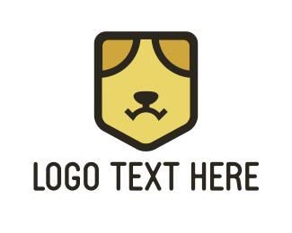 Security - Dog Face logo design